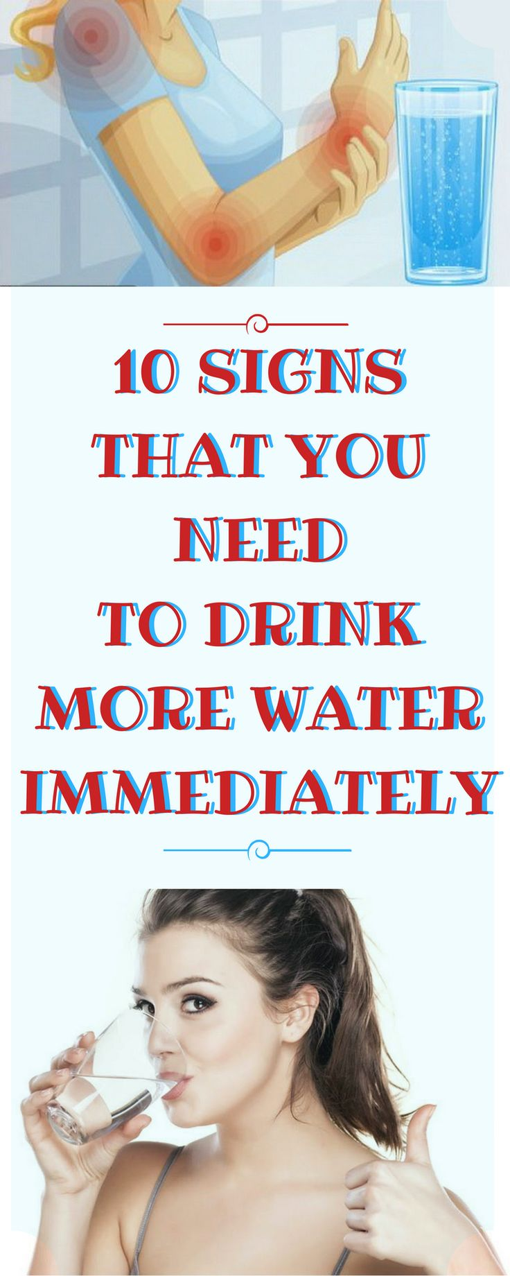 10 SIGNS THAT YOU NEED TO DRINK MORE WATER IMMEDIATELY