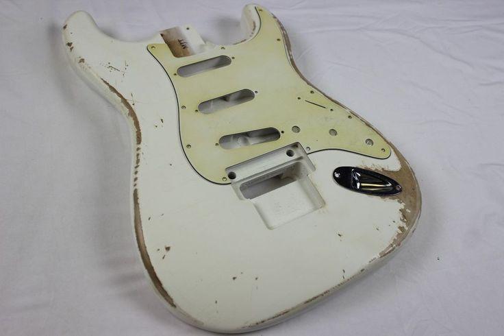 MJT Official Custom Vintage Aged Nitro Guitar Body By Mark Jenny VTS Olympic     eBay