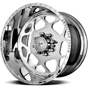 American Force Bison SS8 Polished Custom Truck Wheels & Rims