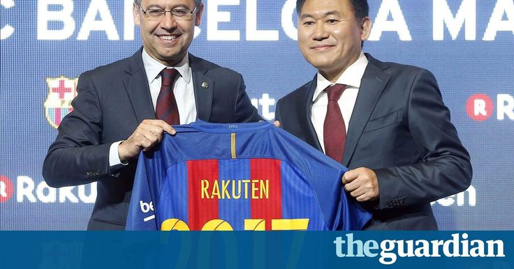 #Barcelona sign €55m a year shirt sponsorship deal with #Japanese firm   #football