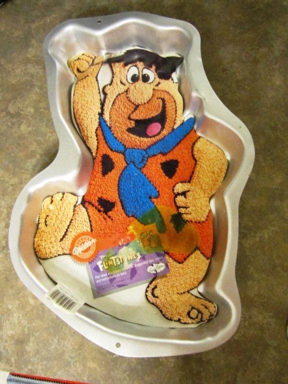 Fred Flintstone Cake Pan