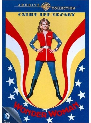 Cathy Lee Crosby as Wonder Woman (1974) A super-hero uses her powers to thwart an international spy ring.