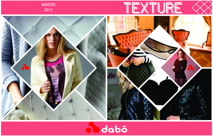 "Trend Fall Winter 2015 - Texture ""Explore your senses"""