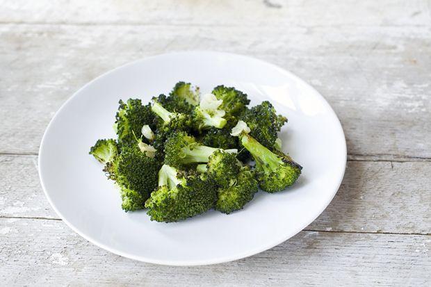 Roasted Broccoli with Garlic and Lemon | eHow Food