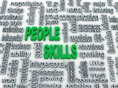 We all have people skills, but to varying degrees and in widely varying areas.