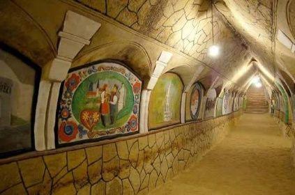 Malovaný sklípek v Šatově