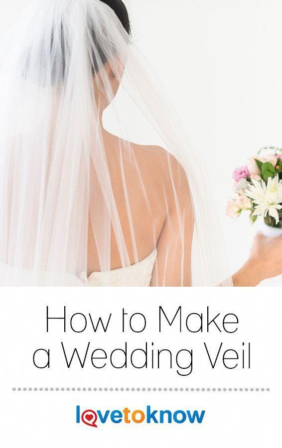 How To Make A Wedding Veil Lovetoknow Diy Wedding Veil Veils Bridal Diy Veil Diy