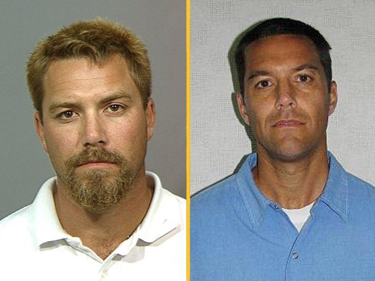 Pinned by Colleen25g  Scott Peterson was sentenced to death in 2005 for the murder of his wife Laci Peterson and their unborn son. Peterson is currently on death row at the San Quentin State Prison in California. According to NBC's Today Show, he is confined to his own cell with approximately 68 prisoners living in his section of the facility. He is reportedly allowed to spend up to five hours a day outdoor exercising and playing basketball.