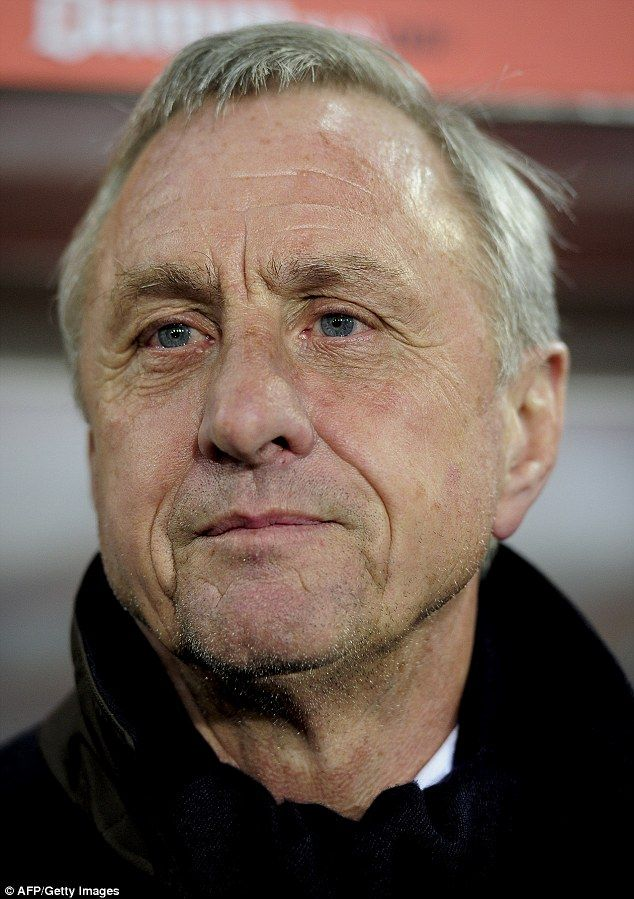 Rival: Barcelona legend Johan Cruyff has commented positively on Real's recruitment and pl...