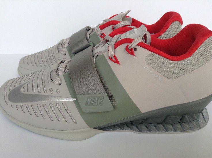 Nike ROMALEOS 3 (852933-003) 100% authentic Men's SZ 8 UK 7