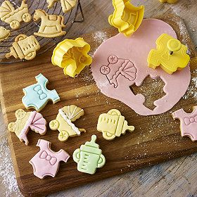 Superior 4 Baby Shower Cookie Cutters From Lakeland