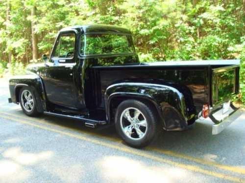 AutoTrader Classics - 1956 Ford F100 Truck Purple 8 Cylinder Automatic 2 wheel drive   Classic Trucks   Pomona CA   Beautiful Trucks   Pinterest   Classic ... & AutoTrader Classics - 1956 Ford F100 Truck Purple 8 Cylinder ... markmcfarlin.com