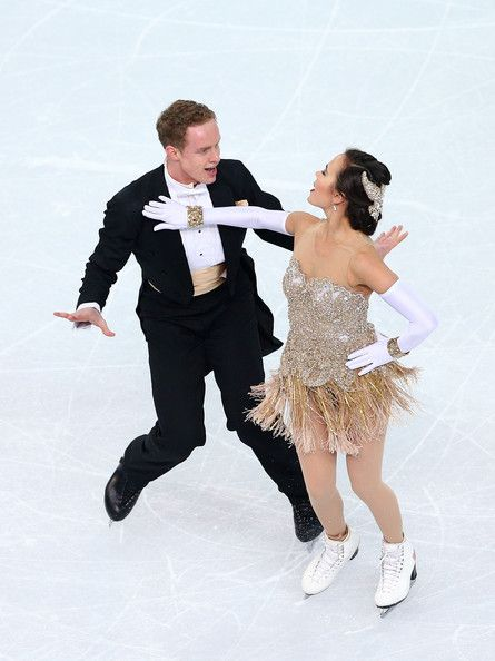 Madison Chock & Evan Bates- Figure Skating - Winter Olympics Day 9