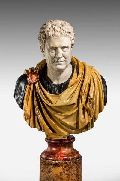 Bust of a Roman Popularis Politician Tiberius Gracchus (Ref No. 7089) - Windsor House Antiques