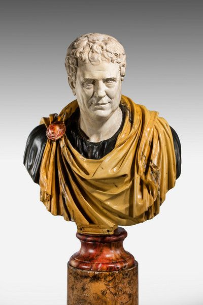 Bust of a Roman Popularis Politician Tiberius Gracchus (Ref No. 7089) - Windsor House Antiques