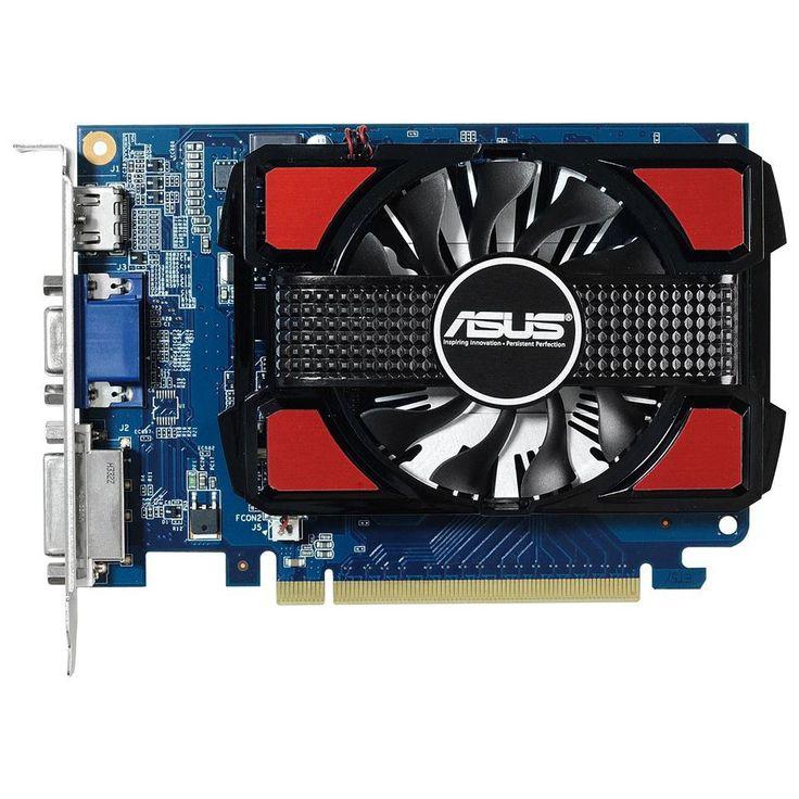 ASUS NVIDIA GeForce GT 730 videokártya, 2048MB, DDR3, 128bit, HDMI, DVI, VGA, Dust-Proof Fan