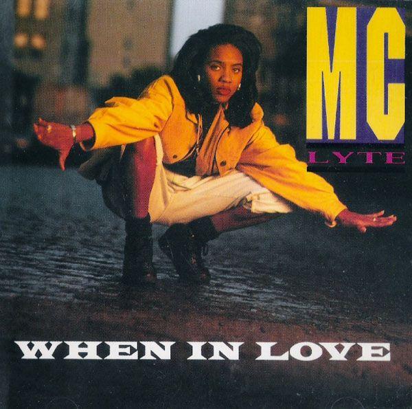 90shiphopraprnb:  MC LYTE When in Love single