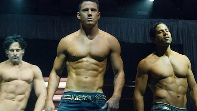 The cast of Magic Mike XXL.