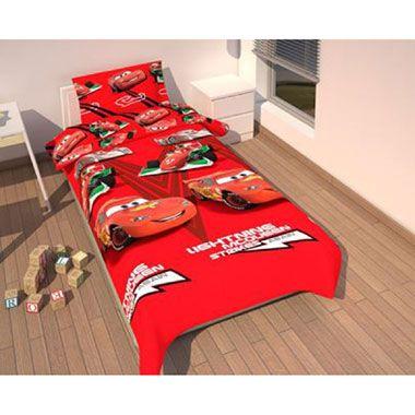 Disney Cars Lightning McQueen dekbedovertrek - 140x200 cm - rood  Ga op in je dromen op avontuur met Lightning McQueen. Dit rode Disney Cars dekbed is 140x200 cm.  EUR 21.99  Meer informatie