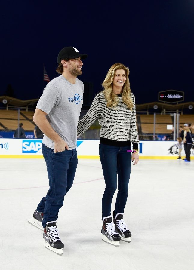 Jarret Stoll and Erin Andrews, such a cute couple!