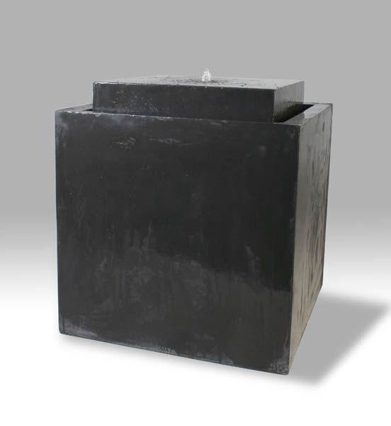 Messina Fountain Giant Steel Grey