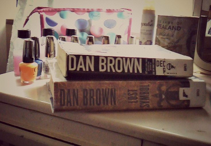 My love! Dan Brown!!! Deception Point and The Lost Symbol!