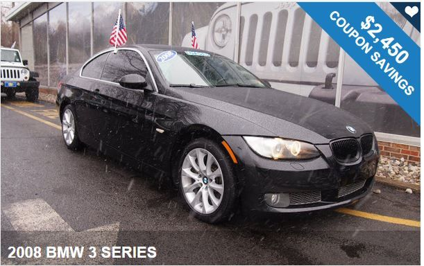 2008 BMW 3 SERIES / $2,450 IN COUPONS ! Exclusive Savings Available!