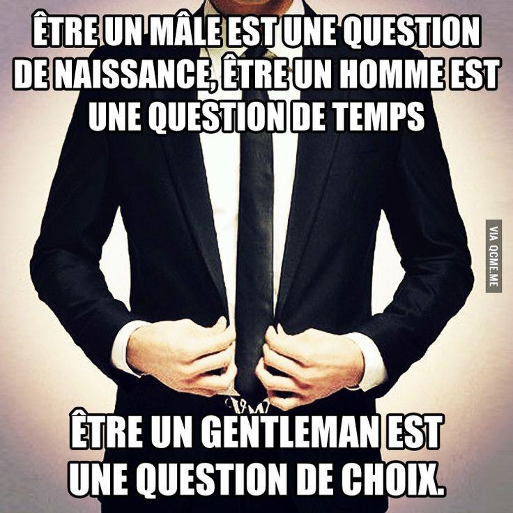 Règle de Gentleman #1