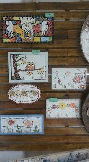 Telas Abstratas para decorações de ambientes. Decore com arte! Temos Aulas de pintura também. : Aulas de Mosaico p Iníciantes
