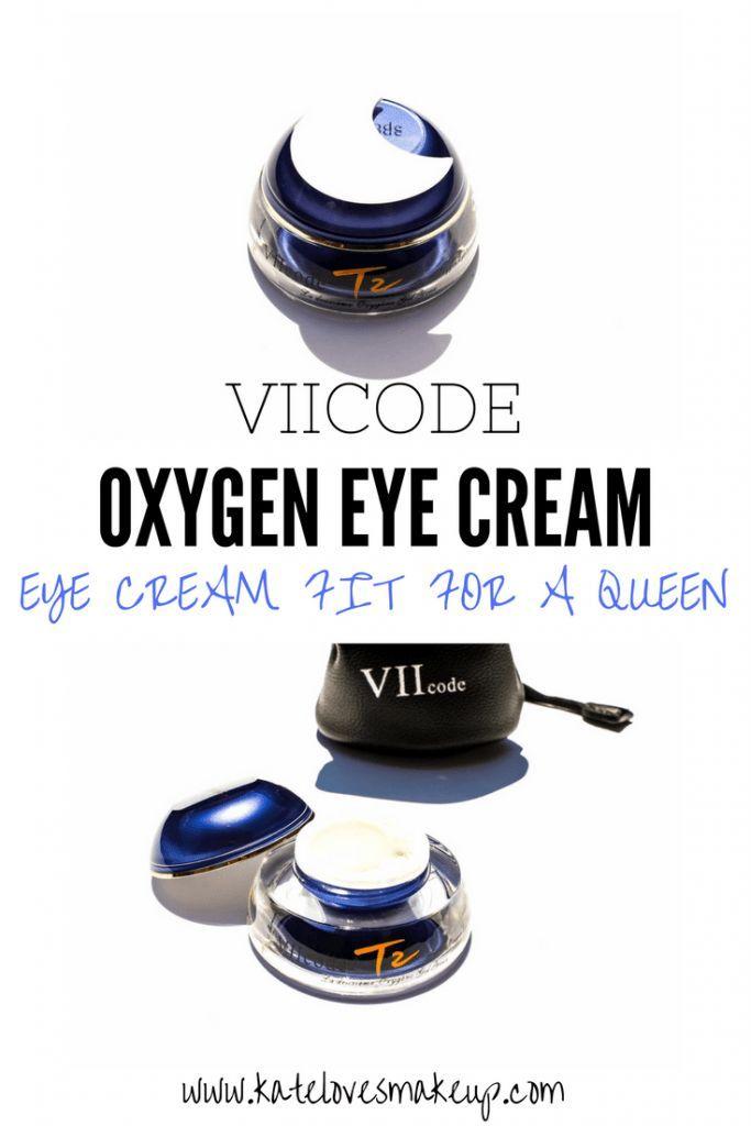 VIIcode Oxygen Eye Cream | Eye Cream Fit for a Queen! | Kate Loves Makeup