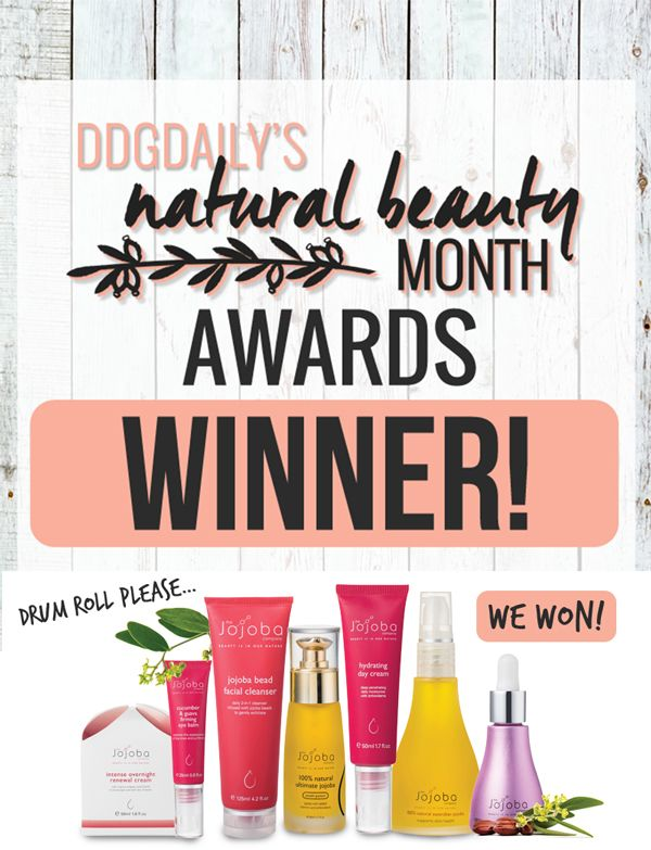 We are so proud to have won BEST OVERALL NATURAL BEAUTY BRAND in the drop dead gorgeous daily Natural Beauty Awards. To celebrate we are offering 20% off all online purchases today*. Simply enter the code DDGD at checkout and order before midnight tonight to receive your discount.  *Australian residents only