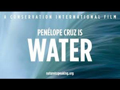 VODA - Penélope Cruz mluví za vodu... - YouTube