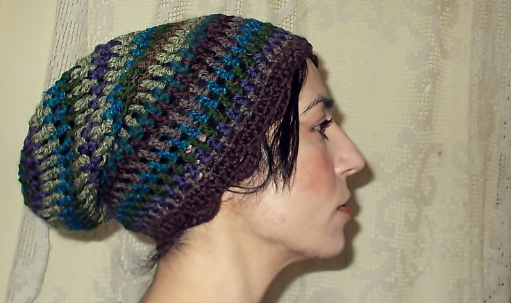 simple crochet hat for windy spring