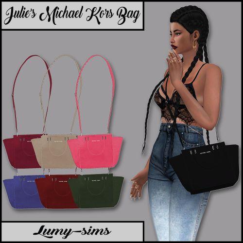Sims 4 CC's - The Best: Julie's Michael Kors Bag by LumySims https://twitter.com/gaefaefagaea4/status/895099552956416000