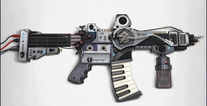music gun: Music Guns, Musicweapon Vianarq, Music Weapons, Music Instruments, Mejor Arma, Audio Musicproduct, Sonic Weapons, The Bands, The Roller Coasters