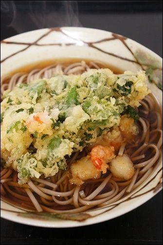天ぷらそば。と、簡単そばつゆのレシピ。 by はなこさん | レシピ ...