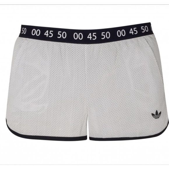 Adidas for topshop leather shorts Topshop and Adidas Originals are a great match together. They really capture the fashion/sportswear vibe that is shown in most runway nowadays. These women's Topshop Superstar Shorts give you that street style you want along with a sporty look to give off that classic adidas look as well. Styled with soft perforated leather in front and silvery tricot in back. Also finished a recycled mesh inner brief and stopwatch-style graphic tape at the waist and side…