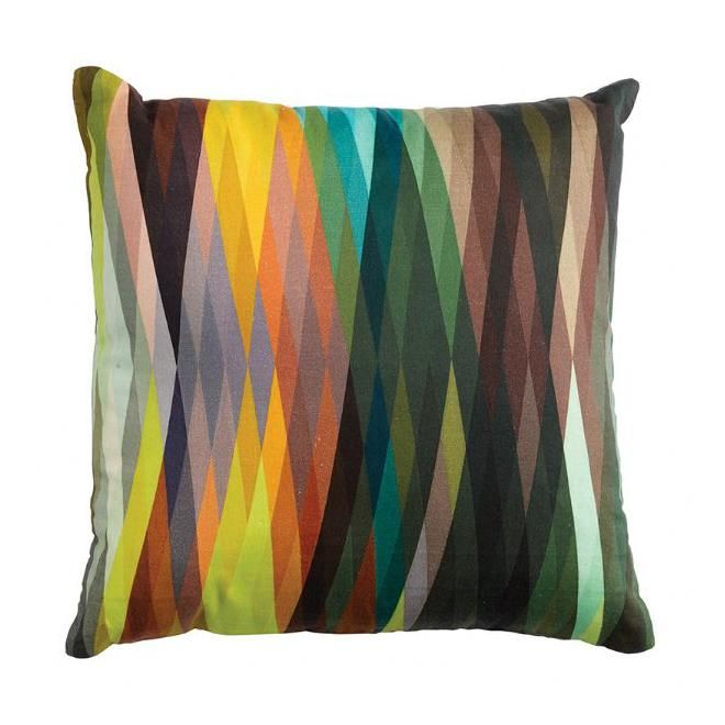 Square Geometric Cushion by General Eclectic