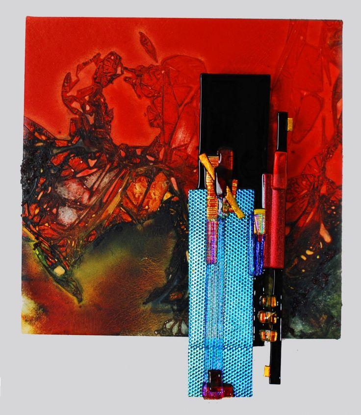 "Contemporary Sculpture - ""Red Beauty"" (Original Art from Elizabeth Dunlop Studios)"