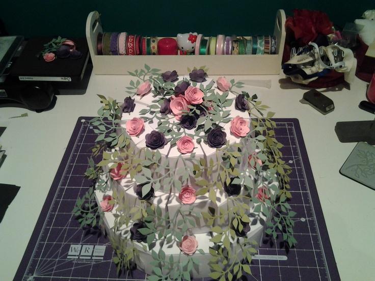 Treat box cake i made for nan's 90th birthday