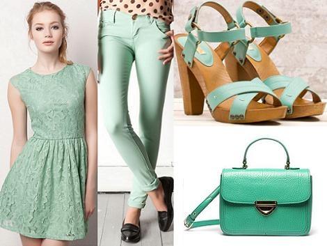 Il colore dell'estate..verde menta!