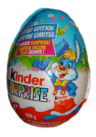 Kinder Eggs...Love these...I used to get these when we lived in Germany...I was sad to learn they don't sell them in the US but found this website where i can order them!