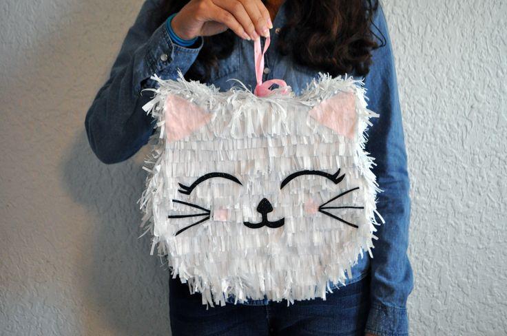 DIY Mini Piñata Kitty