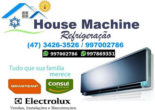 REFRIGERAÇÃO  HOUSE MACHINE: Instalação de Split