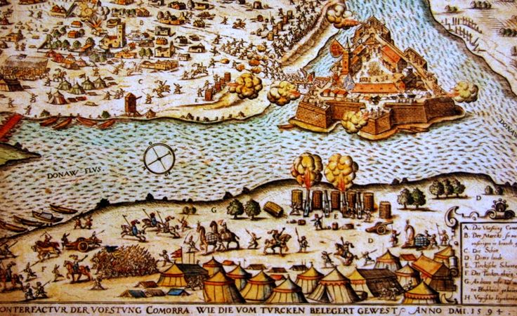 1594, Komárno