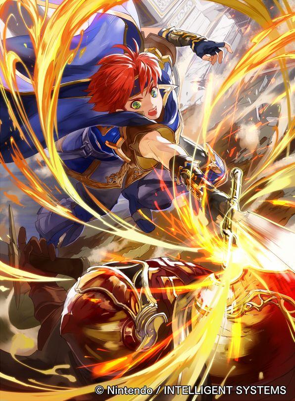 Ilustraciones completas - Roy - Artworks e imágenes - Galería Fire Emblem Wars Of Dragons
