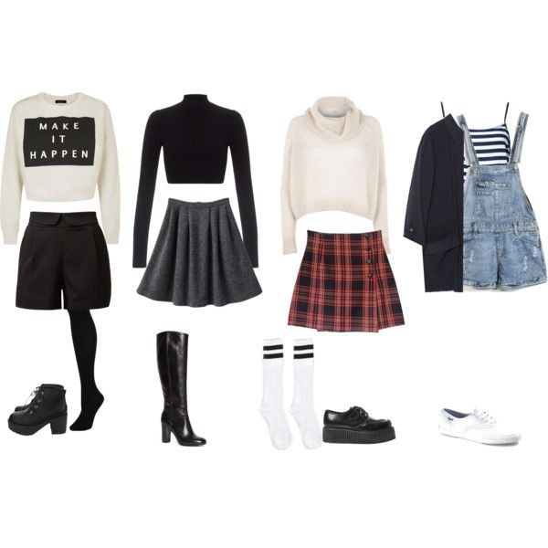 Rachel Green Inspired Outfits by samsus on Polyvore featuring River Island, Lipsy, Zara, Cutie, Hue, Brooks Brothers, Underground, Keds, friends and Inspired