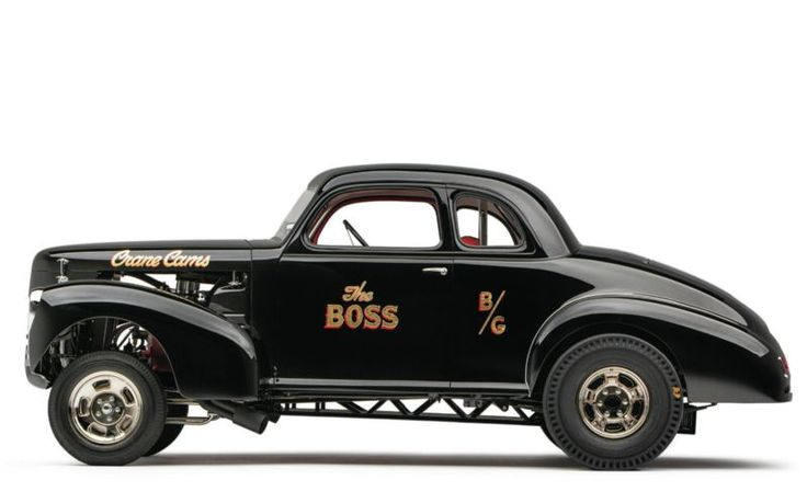 """ The Boss' 39 Studebaker featured in Hot Rod in 1967."