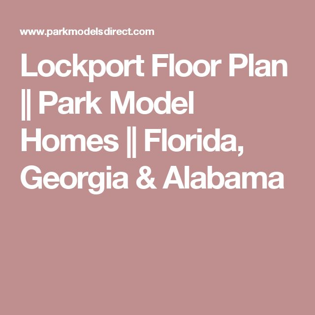 Park model homes in georgia