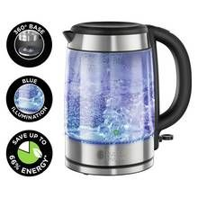 Buy Russell Hobbs 20760 Brita Purity Glass Water Filter Kettle at Argos.co.uk, visit Argos.co.uk to shop online for Kettles, Kitchen electricals, Home and garden